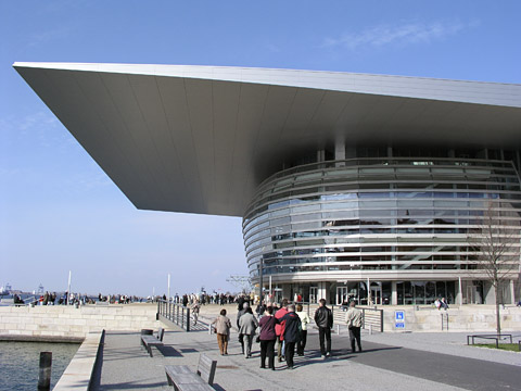 Det nya operahuset i Köpenhamn