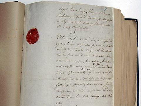 Kungliga Theaterns Reglemente 1772