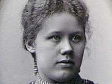 Anna Lang, harpist