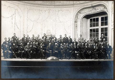 Hovkapellet ca 1920. Foto: Kungliga Operans arkiv