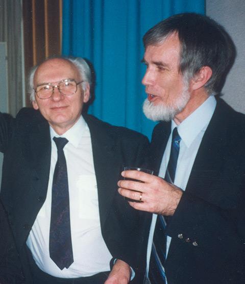 Lars Brolin och Kjell Nilsson, viola