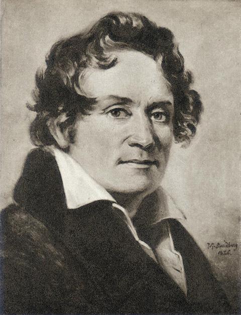 Bernhard Henrik Crusell år 1826