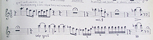 Siegfried, cor anglais, notbild