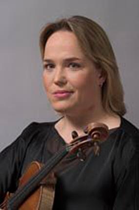 Jannica Gustafsson, 1:e konsertmästare i Hovkapellet