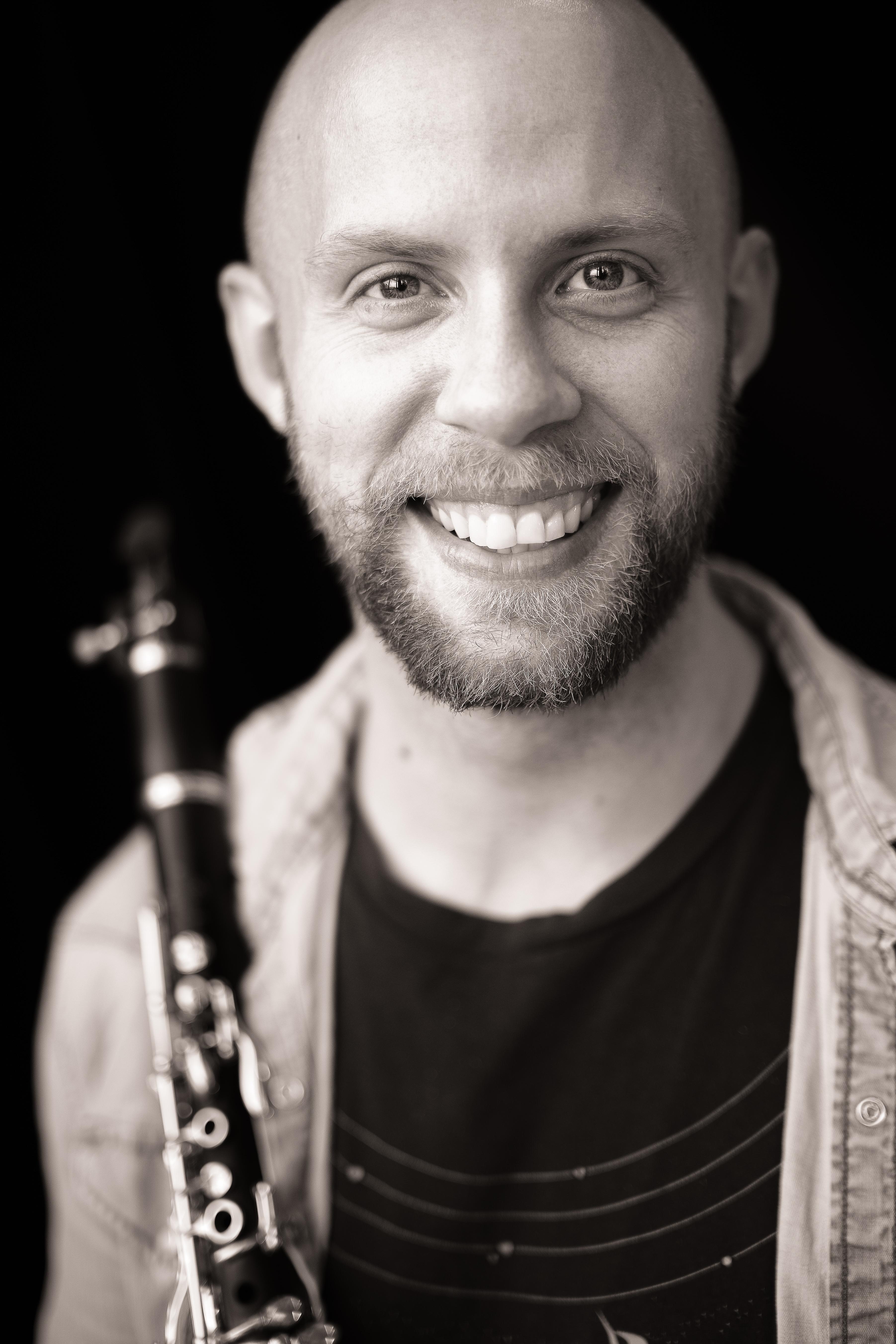 Mattias Larsson, klarinett