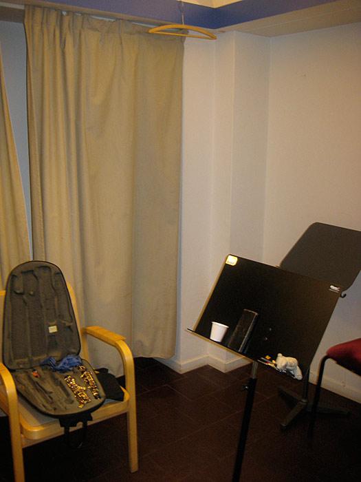 Interiör från ett av våra övningsrum