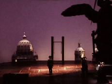 Tosca på Operan, scenbild i akt 3