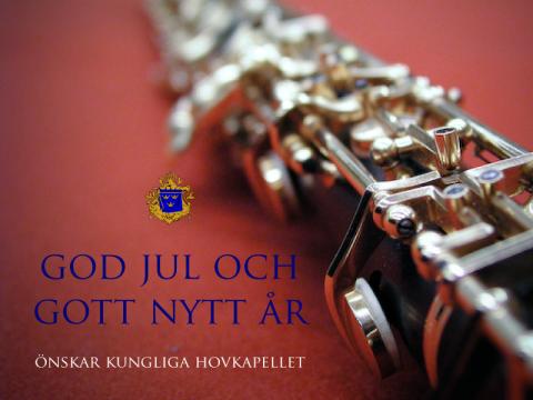 Jul- och nyårshälsning från Kungliga Hovkapellet 2011