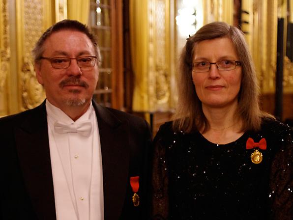 Anders Eriksson och Berit Mattsson