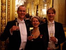 Magnus Bagge, Kristina Kärlin och Magnus Wretblad