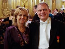 Staffan Lundberg med hustrun Maria