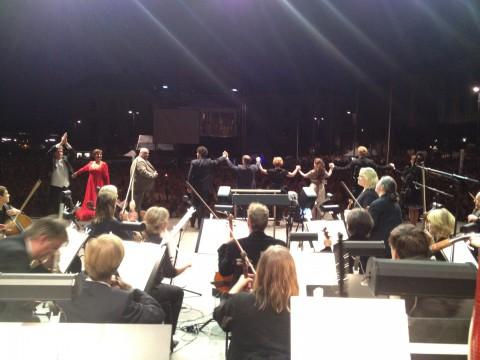 Konsert på GAT. Hovkapellet, Operakören, Stefan Klingele