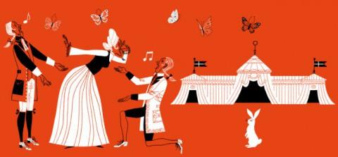 Operan i Hagaparken på Nationaldagen 2013
