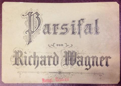 Etikett, noter till Parsifal