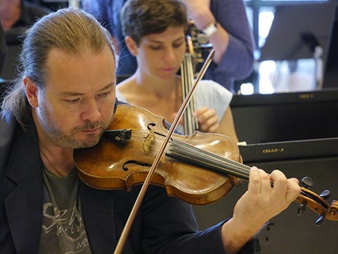 Jan Stigmer, 2013. Ny hovkapellist i violin II-stämman (alt stämledare)