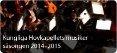 Kungliga Hovkapellets musiker 2014-2015