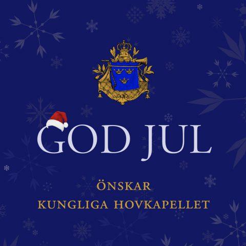 God jul önskar Kungliga Hovkapellet. Grafik: Mikael Rydh